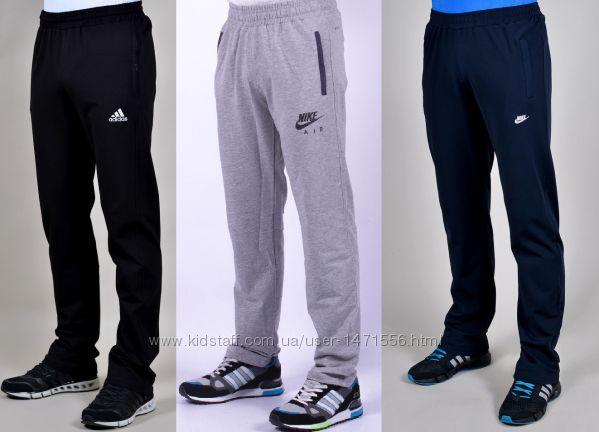 Мужские спортивные зимние штаны Nike, Adidas. Найк, Адидас