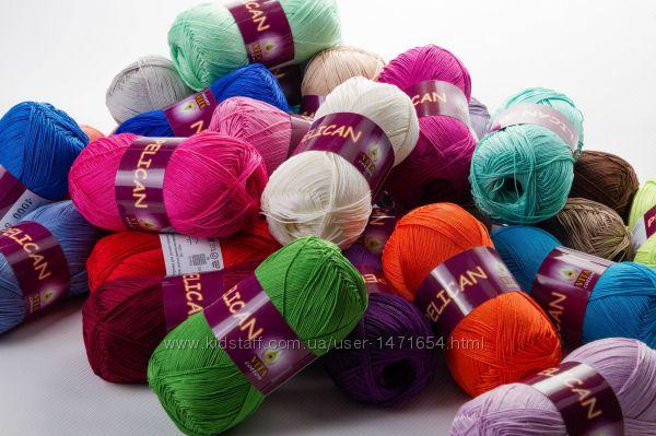 Пеликан нитки для вязания