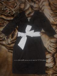 Нарядное платье вечернее атласное 44, 46 S М С М.