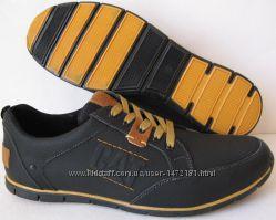 Стиль и уверенность мужские туфли кросовки CAT Caterpillаr натуральная кожа