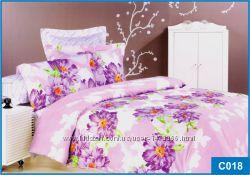 Постельное белье Сатин ТМ Leleka-Textile