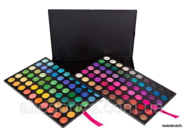Професcиональная палитра теней 120 цветов 1 Палитрапалетка теней