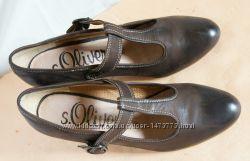 Туфли s. Oliver Германия, натуральная кожа, р. 38