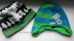 Шикарные шапки на мальчика деми зима на обьем 46-50