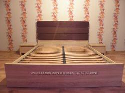 Мебель BRW  Black Red White кровать тумбочки подст. матрац