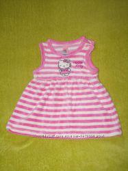 Платье HelloKitty 3-6 мес.
