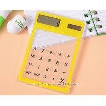 Прозрачный сенсорный калькулятор купить