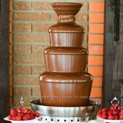 Шоколадный фонтан на День Рождения Свадьбу