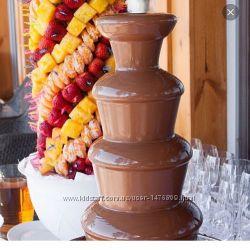 Шоколадные фонтаны на праздник  превосходное решение для праздника
