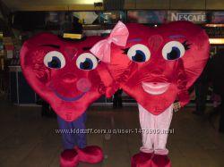 Ростовая кукла Сердце- оригинальное поздравление. Удивит и вручит подарок