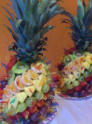 Фруктовая пальма настоящее экзотическое украшение и отличное дополнение