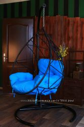 кресло кокон из металла