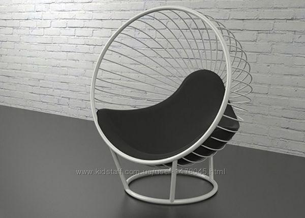 напольное дизайнерское кресло шар