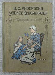 AntiqbookAndersen Sch&246nste kinderm&228dchenCказки Андерсена антикварные