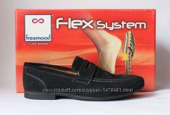мужские замшевые туфли Freemood, Италия-Оригинал