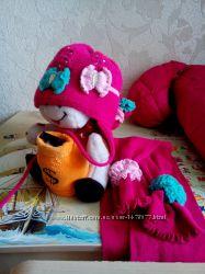 деми шапочка шарфик р. 48-50 Grans Польша