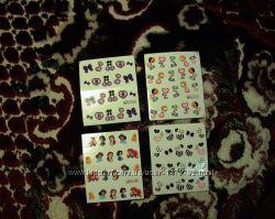 Слайдер маникюр дизайн- ногтей, наклейки водные, акрил, гель, маникюр 8