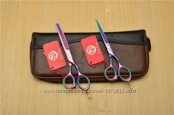 Профессиональные   парикмахерские ножницы от  Purple Dragon.