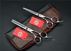 Ножницы для стрижки волос от Purple Dragon, комплект.