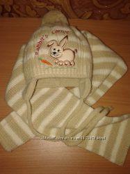 наборчик шапочка и шарфик
