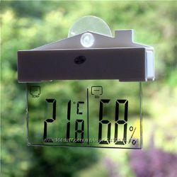Стильный цифровой термометр-гигрометр