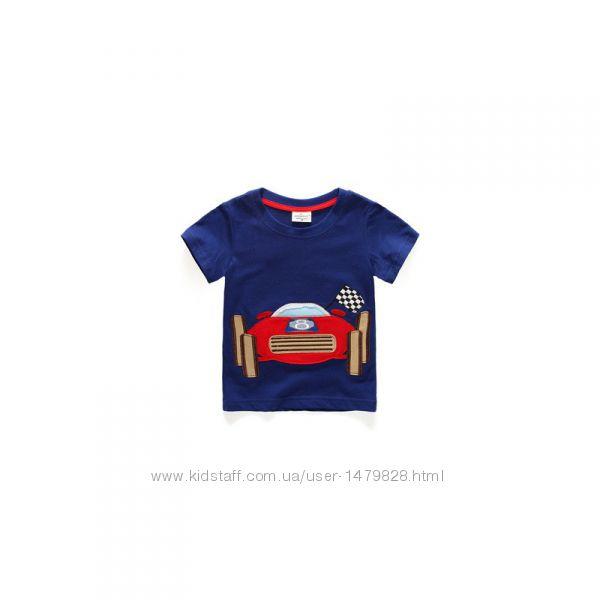 Новые футболки в ассортименте Jumping meters на рост 80, 86, 92, 98, 104, 1