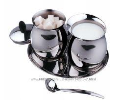 Эксклюзивный стальной набор для кофечая пития от VINZER 69247