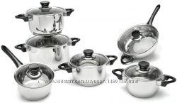Оптимальный комплект посуды от ТМ BergHOFF VISION 12 пр оригинал