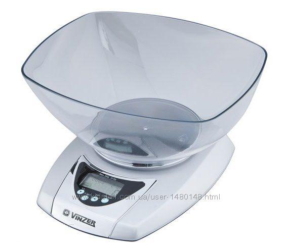 Электронные кухонные весы Vinzer  89185