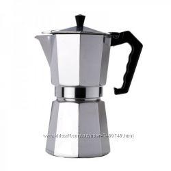 Универсальное заварочная гейзерная кофеварка от VINCENT на 3 ч. кофе