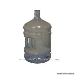 Бутыль для воды 19 л. с ручкой. Поликарбонат