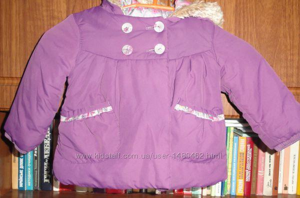 Фирменная курточка на девочку 12-18 мес.