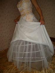 Авторское свадебное платье Снежана стиль
