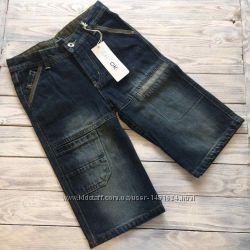Фирменные джинсовые бриджи OKAY 128