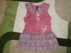 Удобное платье - сарафан р. 92-98