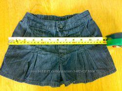 фирменная юбка - шорты MOTHERCARE для девочки до 92 см.