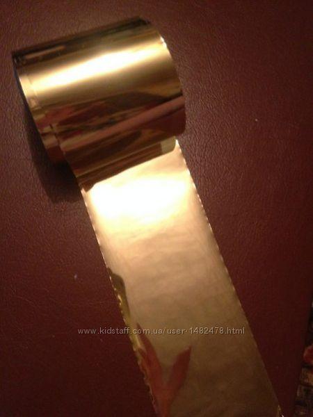 Переводная фольга для литья 1 метр