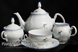 Сервиз чайный 15 пр Bernadotte Гуси
