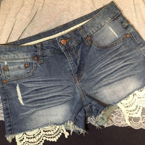 Шорты джинсовые Denim р XS,  S