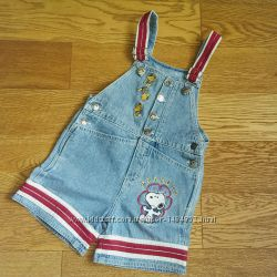 Комбинезон ромпер джинсовый Peanuts Kids p 4 SP
