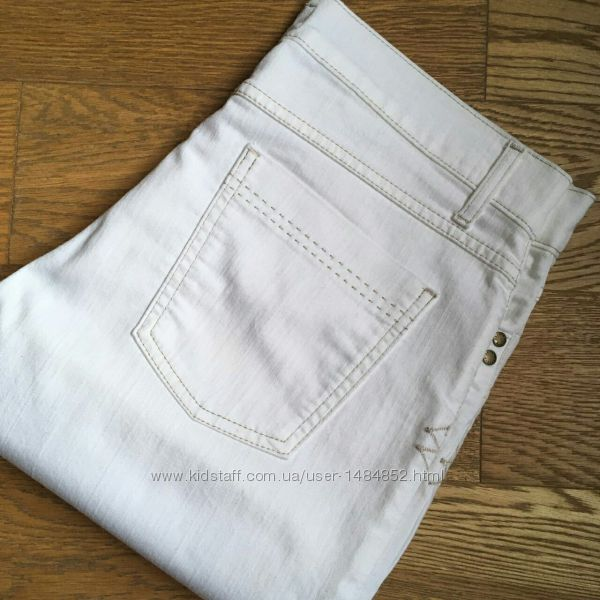 Джинсы белые M&S Per Una 14 размер