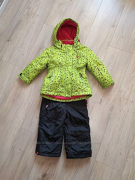 Термо-комбинезон зимний комплект куртка штаны Kiki & Koko КИК на рост 92-98