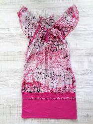 Дизайнерское летнее платье туника