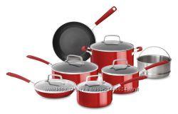 Набор посуды 12 шт KitchenAid KC2AS12ER Красный