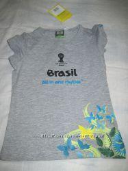 футболка на р. 110-116 Германия, новая