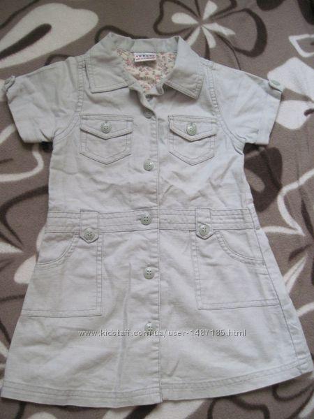 красивое платье на девочку фирменное до 2 лет, р. 86, сток, без бирки, ново