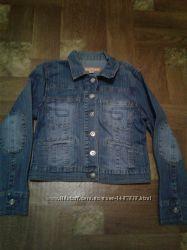 джинсовый пиджак р. 44-46