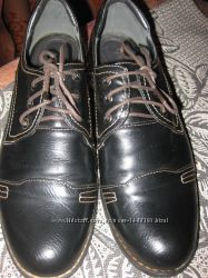 Туфли оксфорды женские. Р. 39
