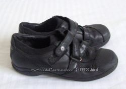 Туфли из натуральной кожи Англия Clarks размер 33
