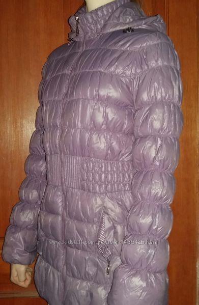 Куртка-полупальто для девочки демисезон SELA